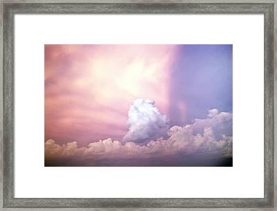 Glories Of Heaven Framed Print