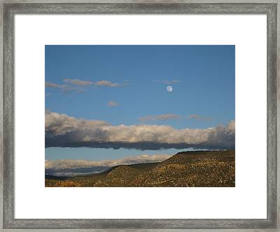 Glorietta Moon Framed Print by Thor Sigstedt