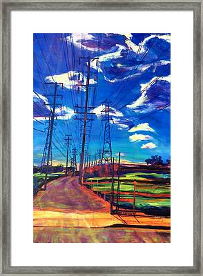 Glorious Afternoon Framed Print by Bonnie Lambert