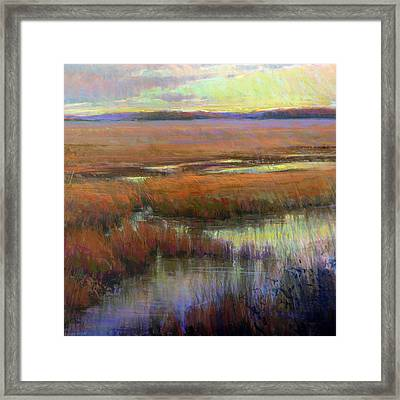 Glorious Appearing Framed Print by Greg Barnes