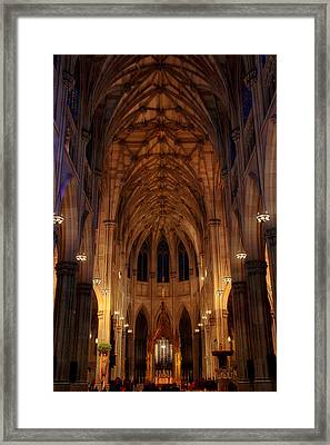 Glorious Gothic Framed Print by Jessica Jenney