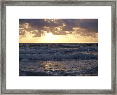 Glorious Harmony Framed Print by E Luiza Picciano