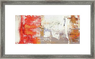 Glorious Mess - Bright Abstract Painting Framed Print by Modern Art Prints