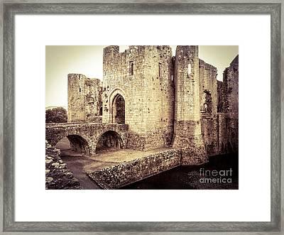 Glorious Raglan Castle Framed Print