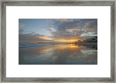 Glorious Sunset Island  Framed Print by Betsy Knapp