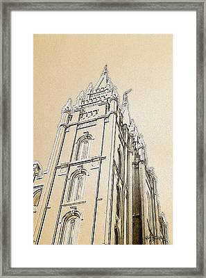 Glory And Majesty Framed Print by Greg Collins