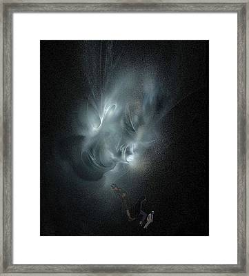 Glory And Pain Framed Print by Viktor Savchenko