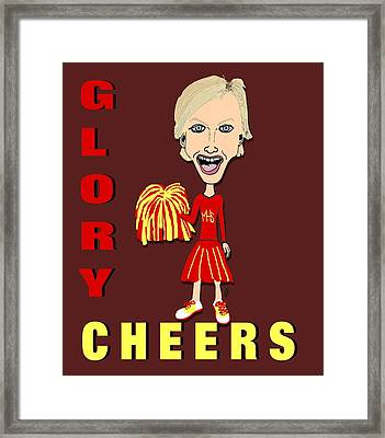 Glory Cheers Framed Print by Pharris Art
