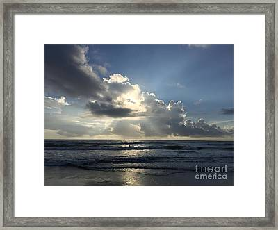 Glory Day Framed Print