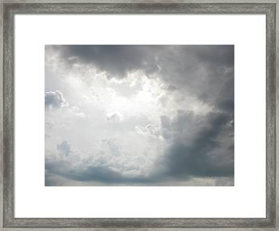 Glory Framed Print by Deborah  Crew-Johnson