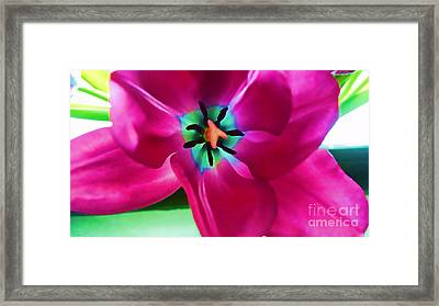 Framed Print featuring the photograph Glory Hallelujah by Roberta Byram