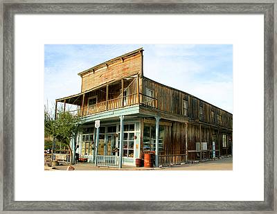 Glory Hole Route 66 Framed Print by Kristin Elmquist