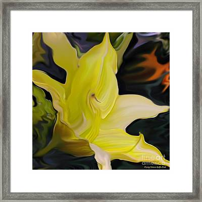 Framed Print featuring the painting Glory II by Patricia Griffin Brett