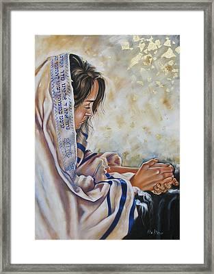 Glory In His Name Framed Print by Ilse Kleyn