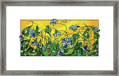 Glory In The Flower Framed Print