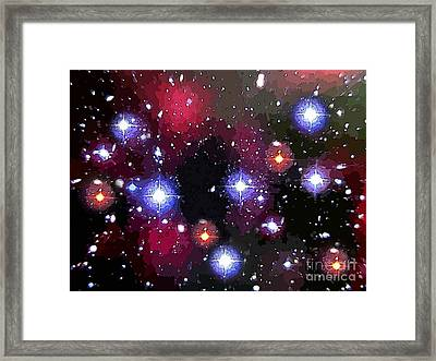 Glory Of The Creator Framed Print by John Malone