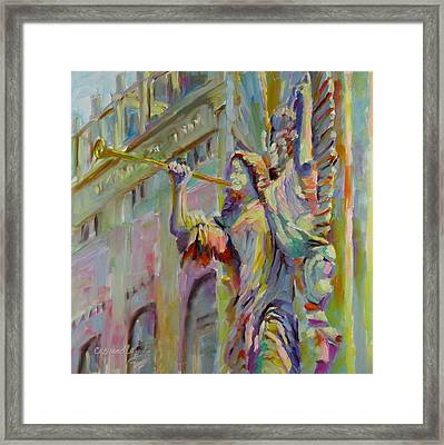 Glory To God In The Highest Framed Print