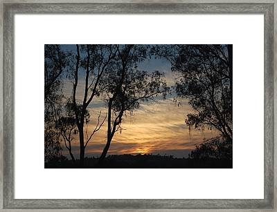 Glory To The West Framed Print by Jean Booth