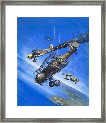 Gloster Gladiator Framed Print by Wilf Hardy