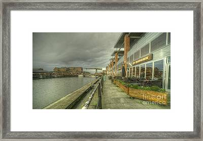 Gloucester Brewhouse  Framed Print by Rob Hawkins