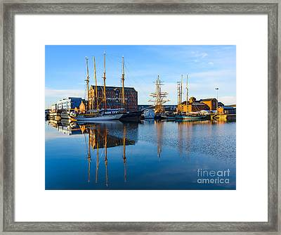 Gloucester Docks Framed Print by Colin Rayner