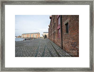 Gloucester Docks Framed Print by Nichola Denny