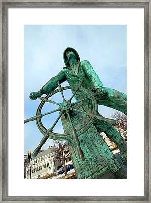 Gloucester Fisherman Framed Print
