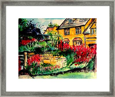 Gloucestershire Framed Print