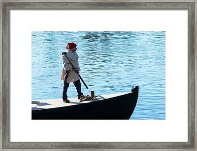 Glover's Boatman Framed Print