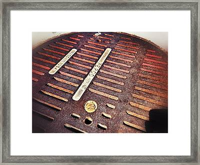 Framed Print featuring the photograph Glow From Below by Olivier Calas