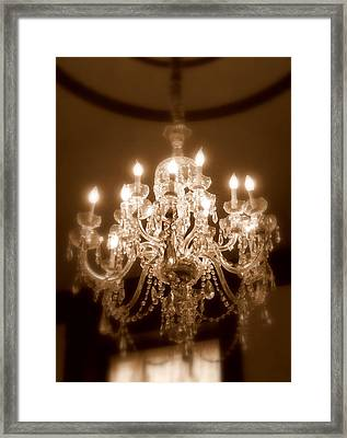 Glow From The Past Framed Print