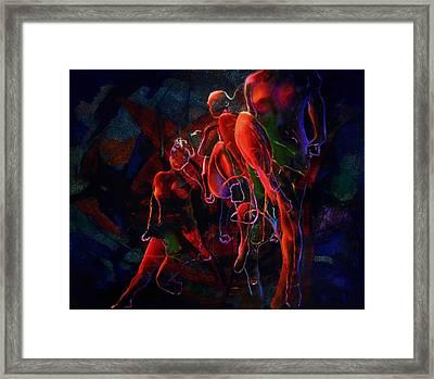Glow Framed Print by Georg Douglas