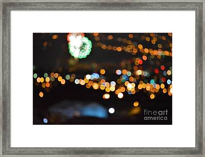 Glow In The Night Framed Print by Daniel Shearer