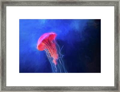 Framed Print featuring the photograph Glow by Joel Witmeyer