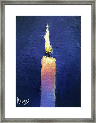 Glow Framed Print by Mike Moyers