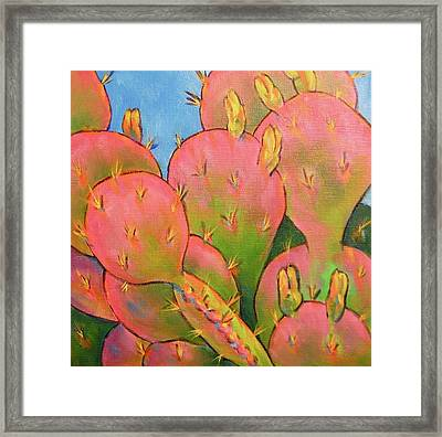 Glow Framed Print by Nancy Matus