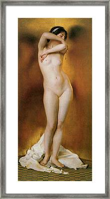 Glow Of Gold Framed Print by William Mcgreggor Paxton
