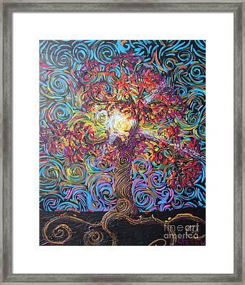Glow Of Love Framed Print