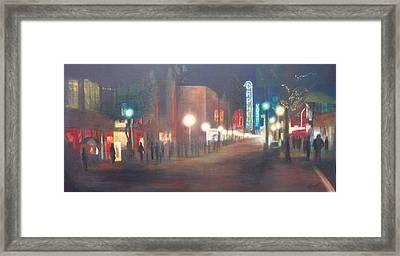 Glow Framed Print by Victoria Heryet