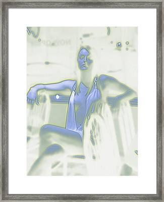 Glowing Brittney I Framed Print