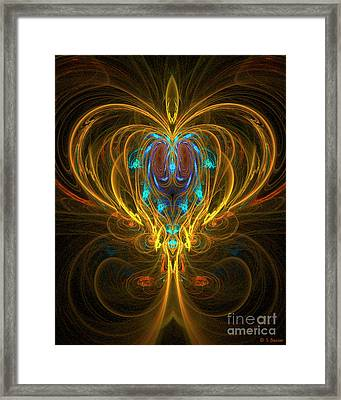 Glowing Chalise Framed Print