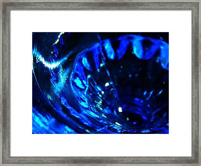 Glowing Glass Beauty Framed Print by Samantha Thome