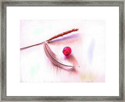 Glowing Grape #g5 Framed Print
