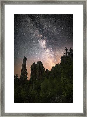 Glowing Horizon Framed Print by Jakub Sisak