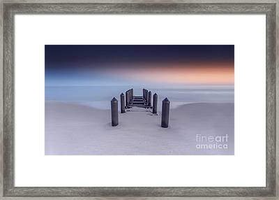 Glowing In Cape May Framed Print by Marco Crupi
