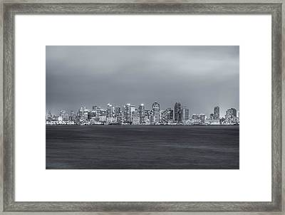 Glowing In The Night Framed Print by Joseph S Giacalone