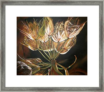 Glowing  Framed Print by Sharon Duguay