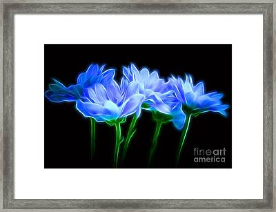 Glowing With Love Framed Print by Krissy Katsimbras
