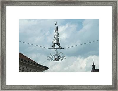Gluck Auf Framed Print