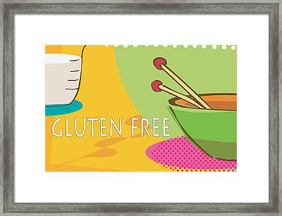 Gluten Free Framed Print by Tina M Wenger